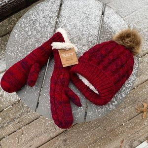 Just cozy - Mittens and Hat 🧣